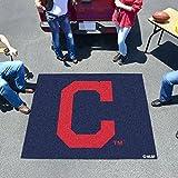 "MLB - Cleveland Indians """"Block-C"""" Tailgater Rug 60""""x72"""""