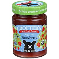 Crofter's Organic, 有机草莓果酱,10盎司(283克)