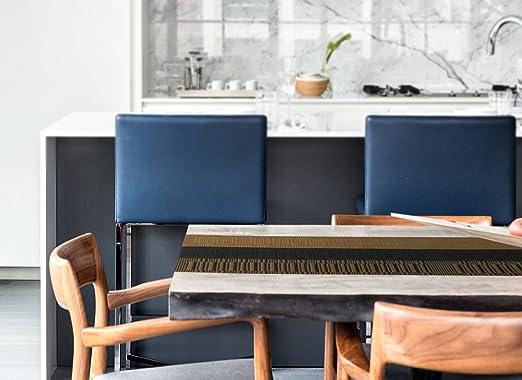 Nuovoware Camino de Mesa, 30 x 180 cm Premium Exquisite Tejido Resistente al Calor Antideslizante Textilene Decoración de Corredor de Mesa para cocina y ...