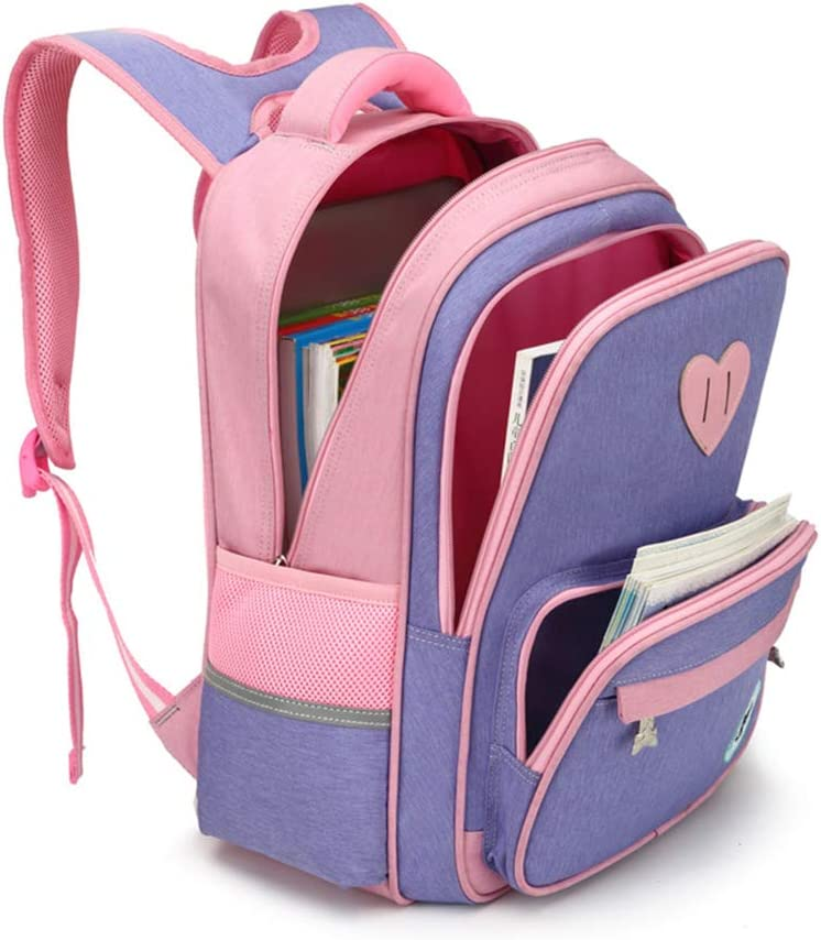 grades1-3 -Watermelonred Oxford Waterproof Lightweight Children/'s Schoolbag Rucksack for Girls Students Bookbags Daypack Primary School Backpack