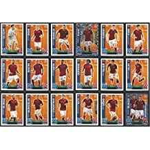 Topps Champions League Match Attax 15/16 AS Roma Team Base Set 2015/2016 Including Star Player & Duo Trading Cards