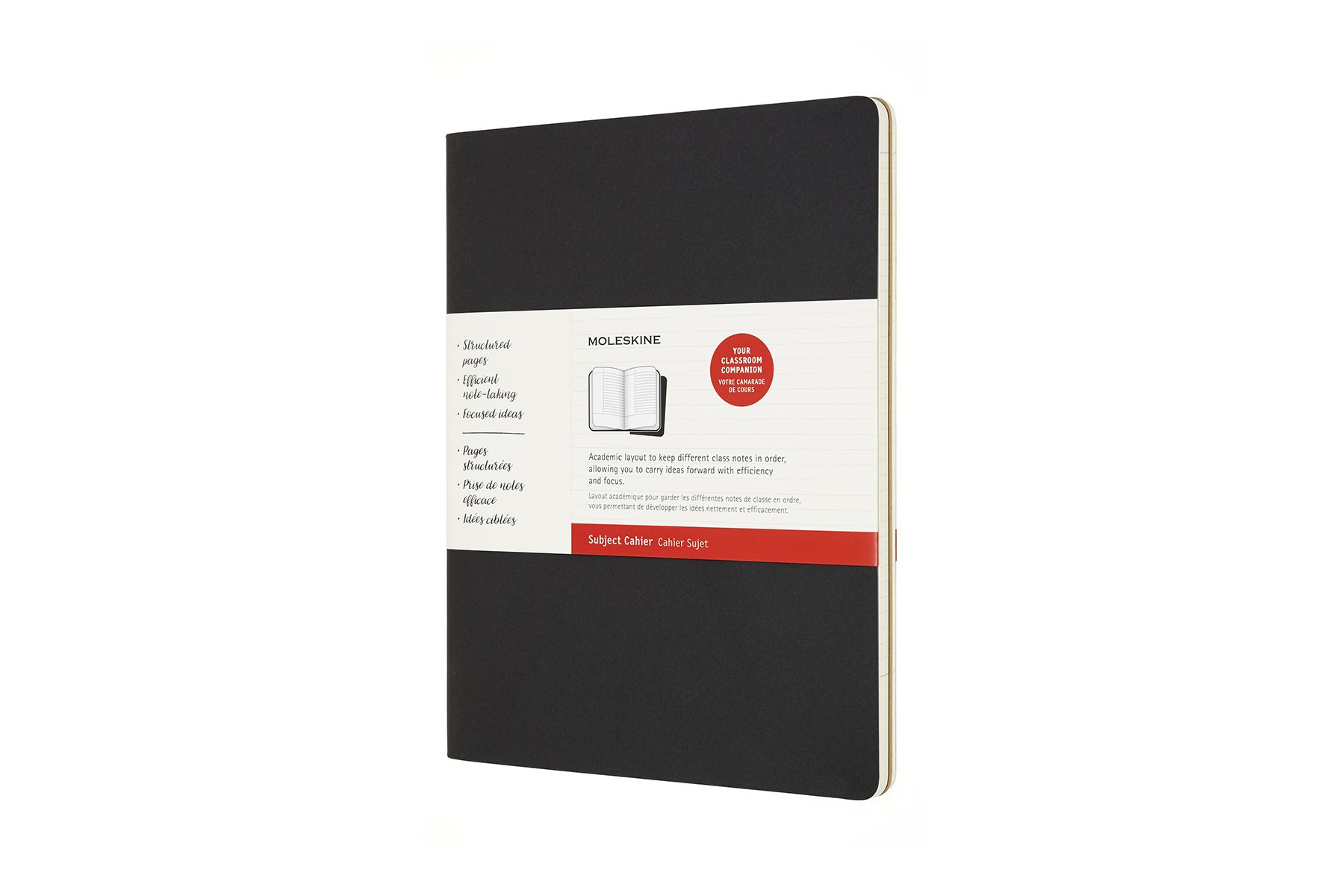 Moleskine Subject Cahier Soft Cover Journal, Set of 2, XXL..
