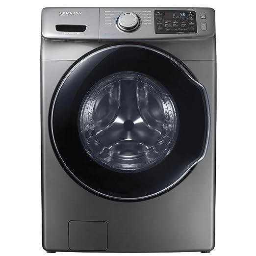 Amazon.com: Samsung Platinum carga frontal Lavadora de vapor ...