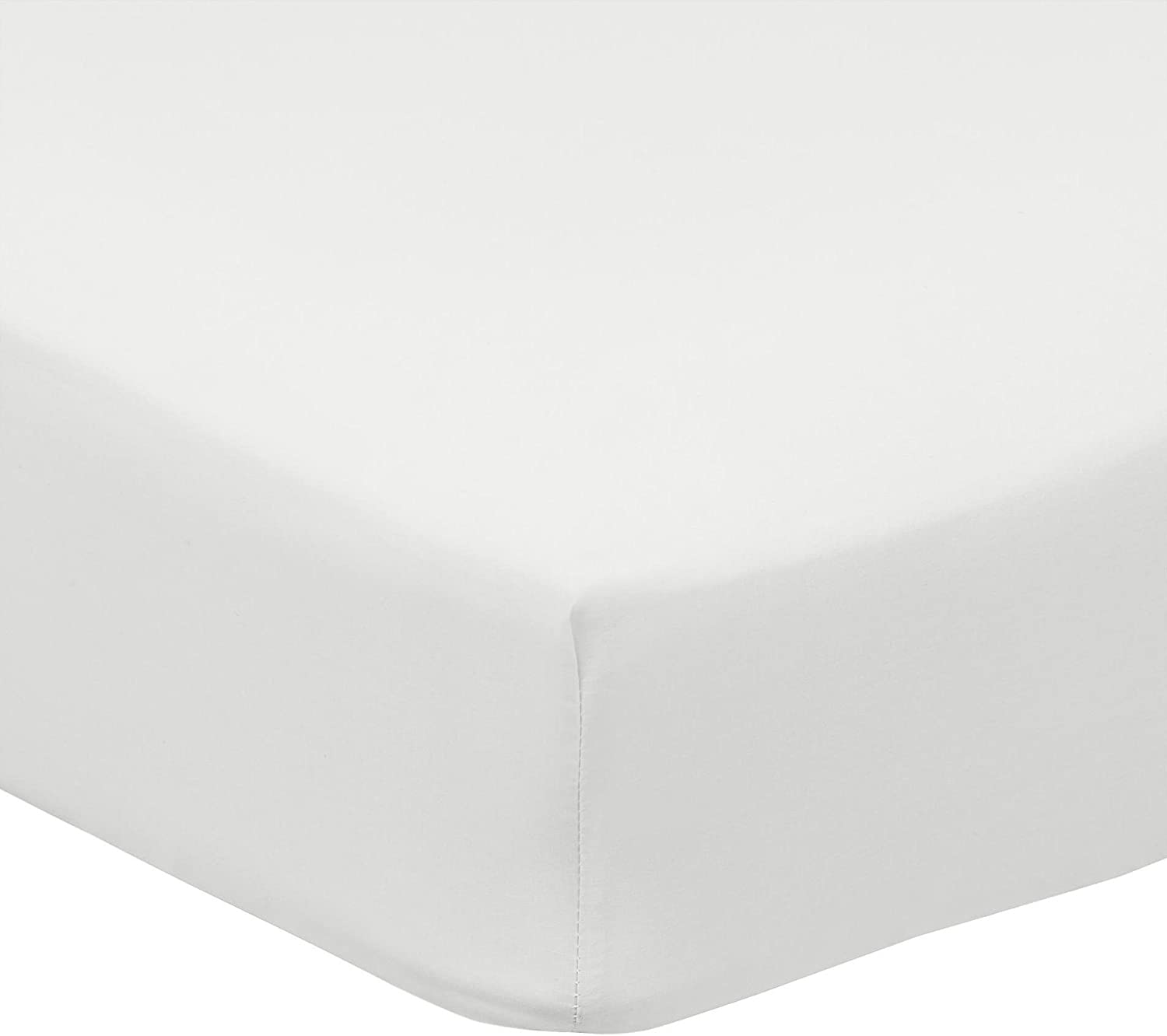 NEW Tesco Sleep 180 Thread Count Polycotton White Fitted or Flat Sheet Single