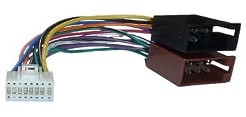 Alpine DIN ISO Auto Radio Adapter Kabel Stecker CDA CDE: Amazon.de ...