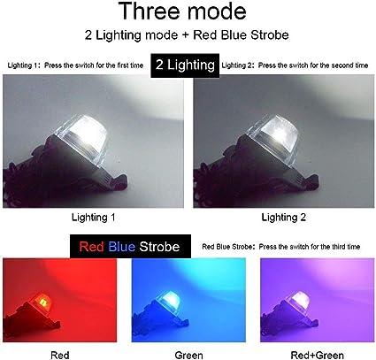 COB Multi-function Micro Strong Headlight Longlast Outdoor Lamp Tools Batte N0Y9