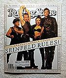 Cast of Seinfeld (Jerry Seinfeld, Kramer) - Rolling Stone Magazine - #660-661 - July 8-22, 1993