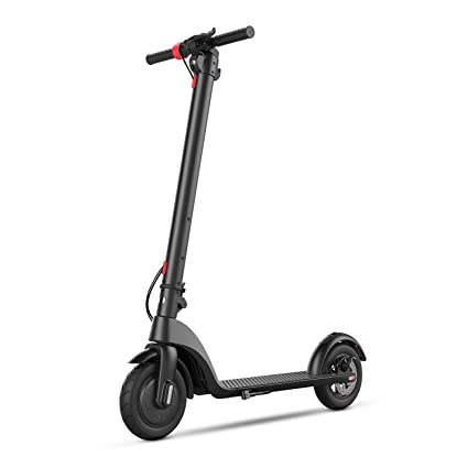 """BEEYEO Electric Scooter, X7 Scooters for Adults with Three Speeds Up to 16 Miles & 20MPH Portable Folding Commuting Electric Scooters 8.5"""" Solid Tires Double Braking System : Amazon.in: Toys & Games"""