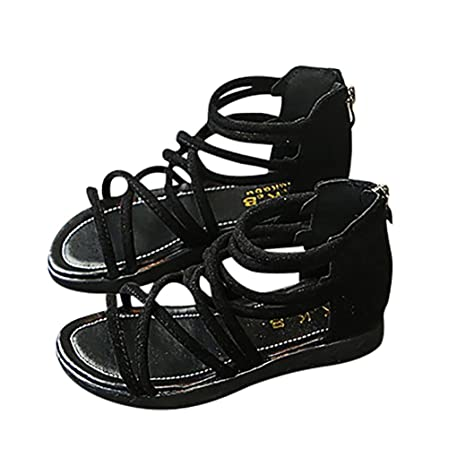 Amazon.com: Niña sandalias, cicuta bebé niños niñas zapatos ...