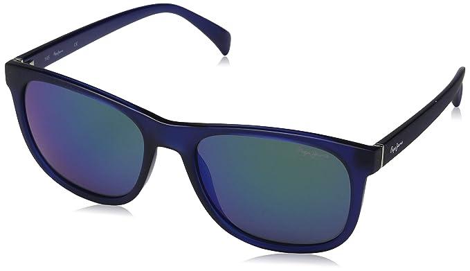 Pepe Jeans Sunglasses Travis, Gafas de Sol para Hombre, Azul ...