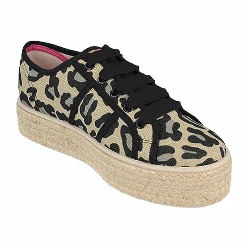 gran descuento aaed3 0c3b5 Zapatos GIOSEPPO Leopardo Yute: Amazon.es: Zapatos y ...