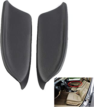 Armrest Door Panel Synthetic Left Side for Honda Accord 08-12 Gray