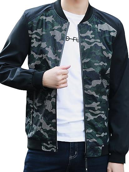 (ネルロッソ) NERLosso ブルゾン メンズ 迷彩 カモフラ ジャンパー スタジャン 大きいサイズ ミリタリージャケット ライダースジャケット 正規品 cmz24367
