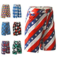 Royal & Awesome Men's Golf Shorts,