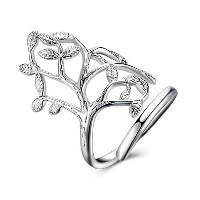 YXYP Anillo Anillo elegante Anillo de lujo Anillos de matrimonio Anillo de moda Accesorios de joyería