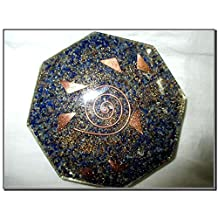 Jet New Lapis Orgone Vastu Plate Free Booklet Jet International Crystal Therapy Energy Generator Crystal Gemstones Unique Rare Science Construction Vedic Astrology Wealth Health Cosmic Intelligence Five Elements Copper Metal Mix Rare Healing Positive Energy Tetrahedron Sacred Feng Shui Geometry Memory Concentration Meditation Spiritual Psychic Piezo Electric Effect Business Prosperity Success Destress Anxiety Disorder Love