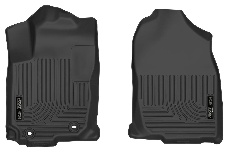 Husky Liners 52201 Black Front Floor Liners Fits 13-18 RAV4