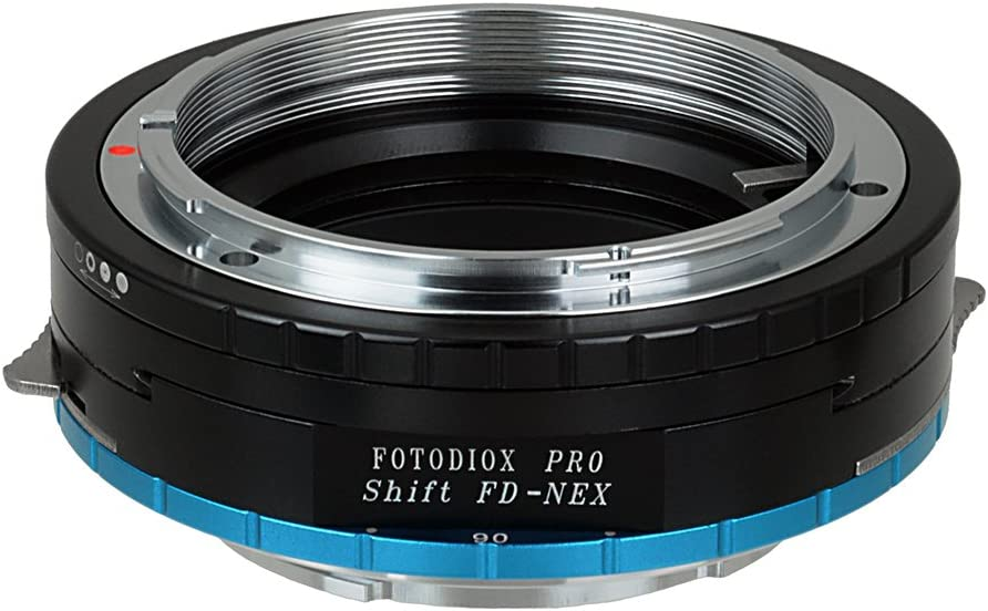 Fotodiox Pro Lens Mount Shift Adapter Canon Fd New Camera Photo