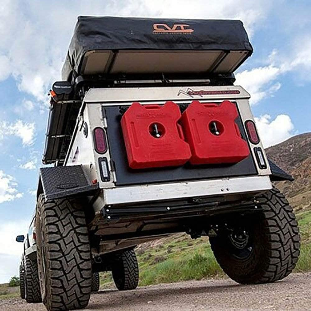 Rotopax Rx 1 75g Benzin Pack 1 75 Liter Kapazität 3 Gallon Rot Auto