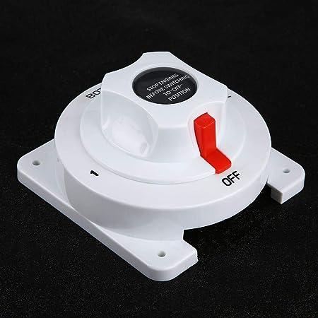 Hochleistungs Doppelbatterie Isolator Wahlschalter Für Wohnmobil Rot