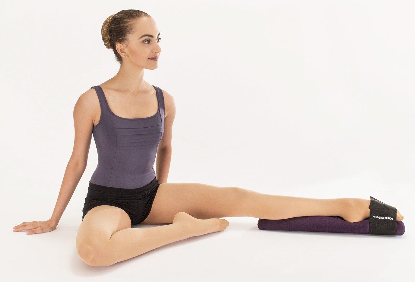 Superior Arch Fuß Keilrahmen für Ballett und Gymnastik SA-Black