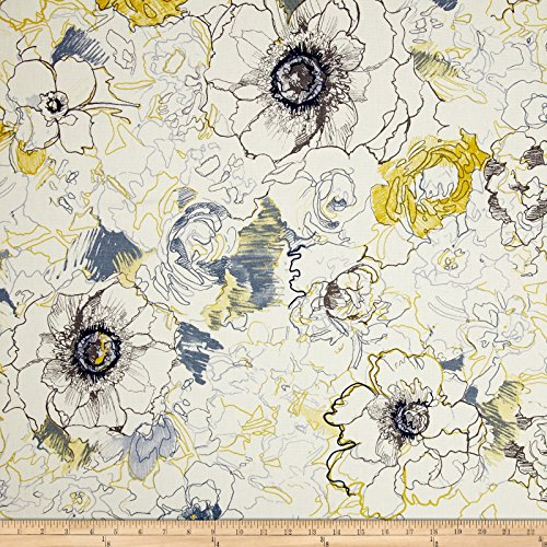 Richloom Fabrics Ellery Floral Fabric, - Upholstery Fabric Floral