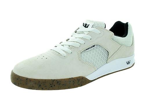 Zapatillas Supra: Avex White Gum BG 11 USA / 45 EUR: Amazon.es: Zapatos y complementos