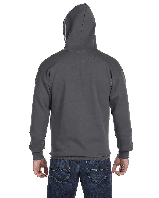 Anvil Mens Combed Ringspun Fashion Fleece Full-Zip Hood 71600