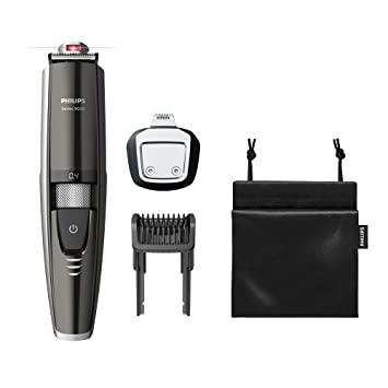 f42944f89 Philips Series 9000 Laser Guided Beard and Stubble Trimmer for Precise  Symmetrical Beards -BT9297/13: Amazon.co.uk: Health & Personal Care