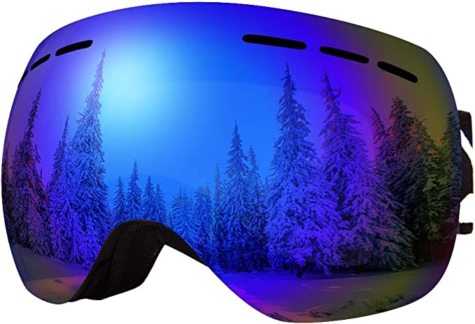 131 opinioni per BFULL Occhiali da Sci OTG, Occhiali da Snowboard Antivento antiappannamento per