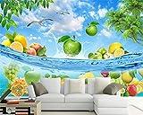 BZDHWWH Custom Wallpaper Hd Fruit Fresh Apple Lemon - Best Reviews Guide