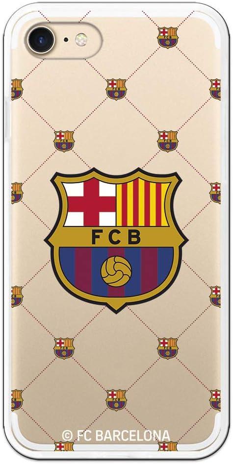 Carcasa del FC. Barcelona Escudo Malla para iPhone 7: Amazon.es: Electrónica