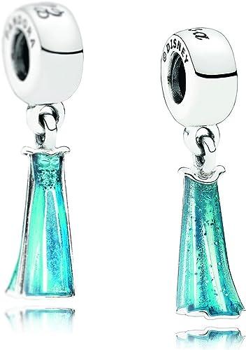 1 Genuine Pandora Silver Disney Elsa's Dress Charm S925 Ale ...