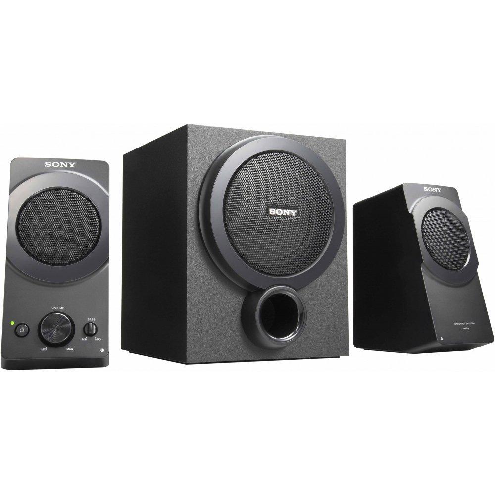 Sony SRSD5 2.1 PC-Lautsprecher-System schwarz: Amazon.de: Computer ...