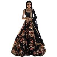 Vrouwen justgo designer indiase traditionele exclusieve 3 PC LEHENGA CHOLI MJ36