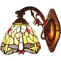 BAYCHEER Tiffany libélula lámpara aplique - Pantalla