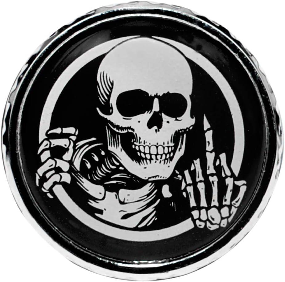 Scheletro dito medio GUAIMI Bullone del sedile del parafango Kit di dadi a vite Filettatura 1//4-20 per Harley Davidson Sportster Touring Electra Glide Street Glide 1996-2020 Argento