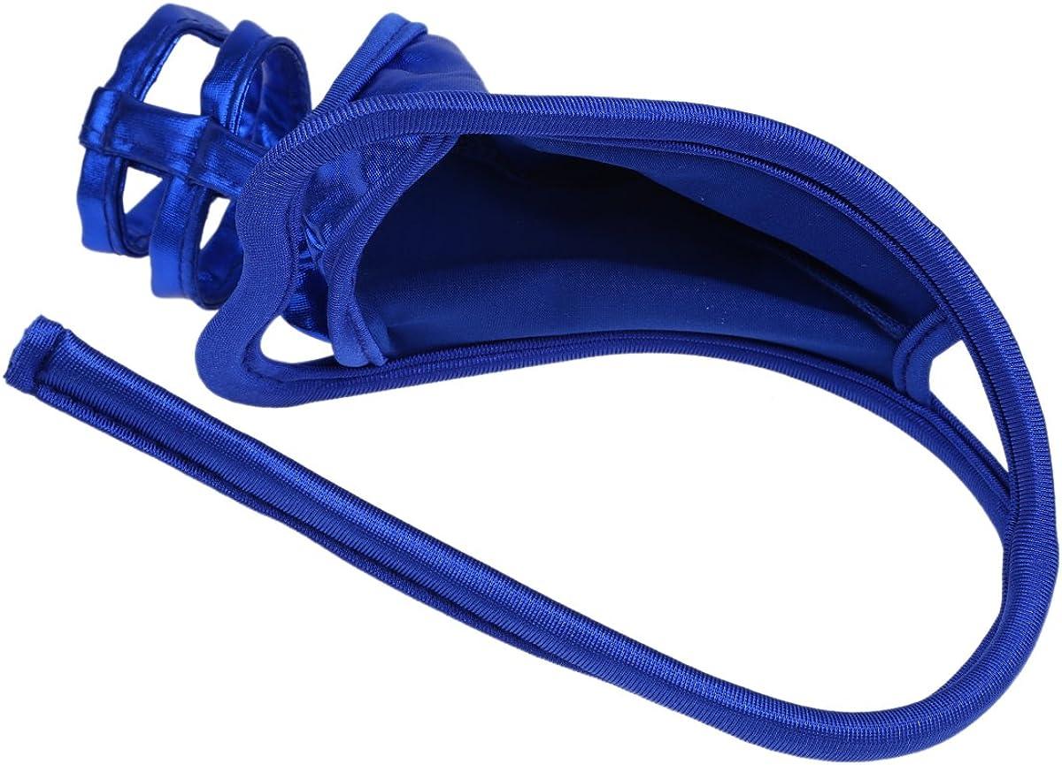 Agoky Mens C-String Lingerie Multiple Underwear Crotchless Micro Thongs Bikini Briefs