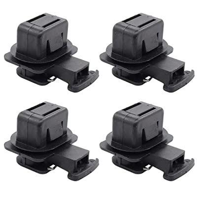XtremeAmazing Pack of 4 Rear Seat Cushion Pad Clips: Automotive