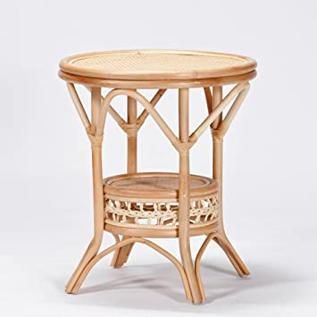 Rattan Wood Table Balcony Table Coffee Table Round Table