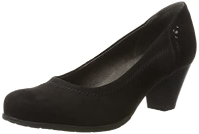 Womens 22461 Closed Toe Heels, Black Soft Line