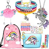 8 pcs Unicorn Gifts for Girls Teen Necklace
