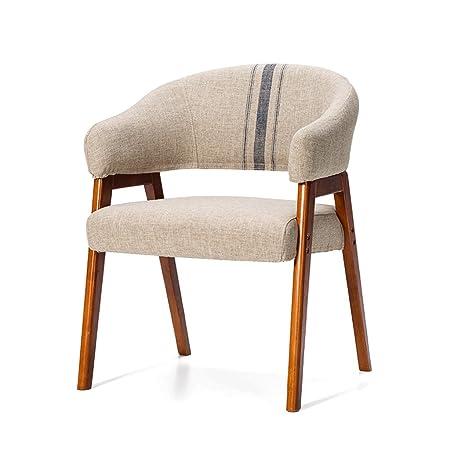 bar chair rxl solid wood chair sofa chair fabric backrest chair cafe
