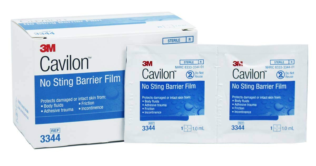 3M Cavilon No Sting Barrier Film 3344 (Pack of 100)