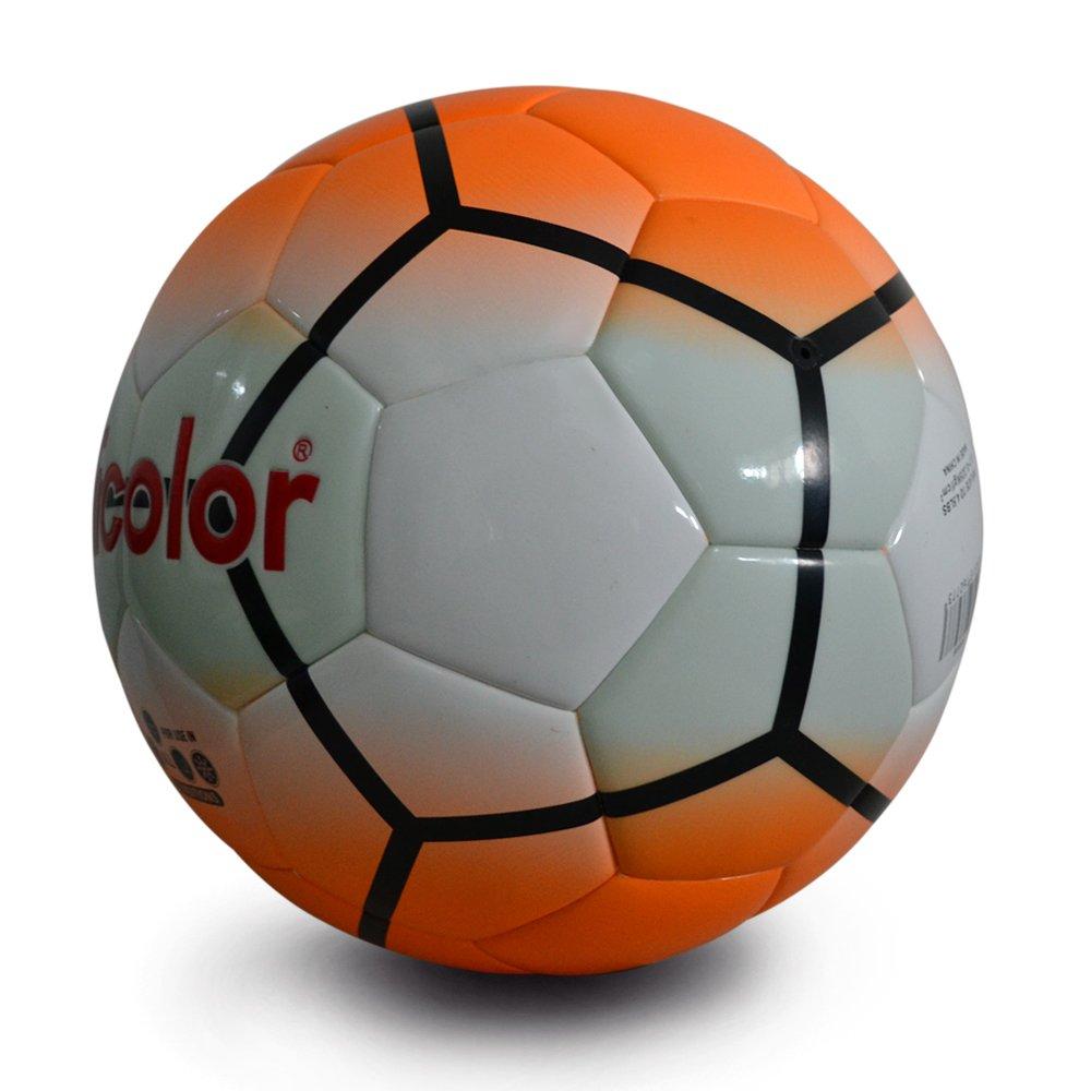 Tamaño 4 naranja caliente parche Adicolor luminoso Fútbol luz ...