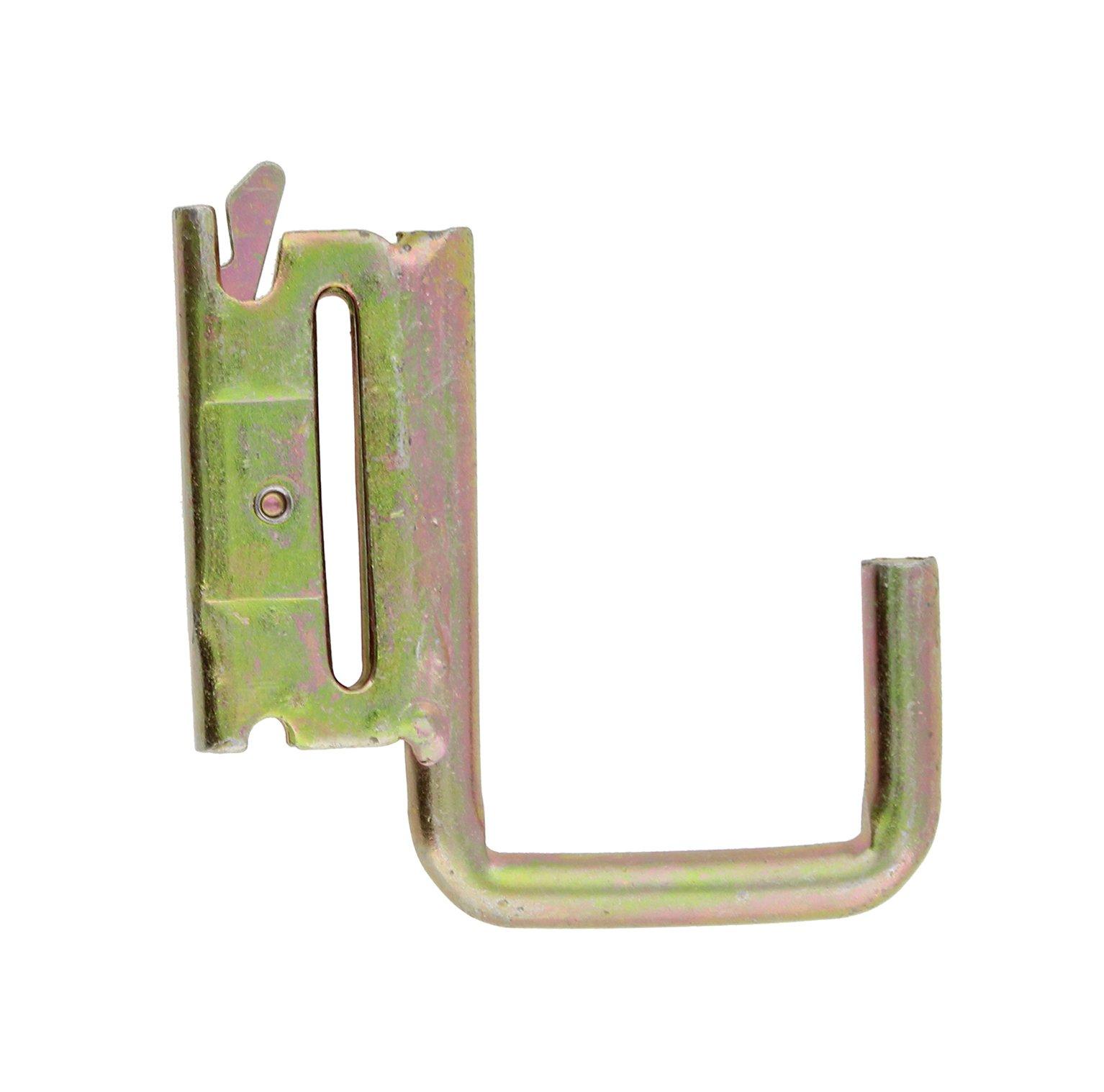 ABN J-Hook Tie Down Anchor for E-Track (2-Pack) – E Track Tiedown Anchors/Fittings, J Hooks for Cargo Storage Shelf