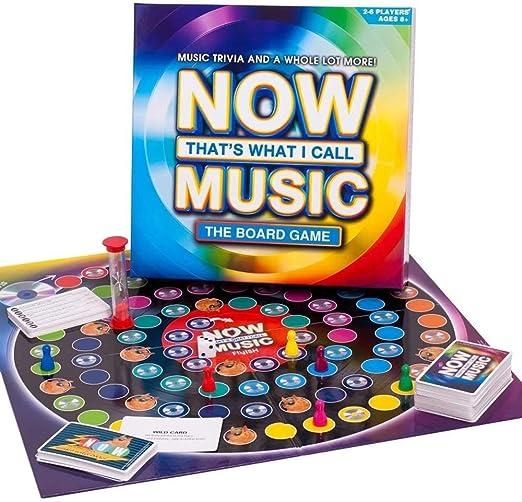 Paul Lamond 6745 Sony Entertainment Now That I Call - Juego de Mesa de música, Multicolor: Amazon.es: Juguetes y juegos