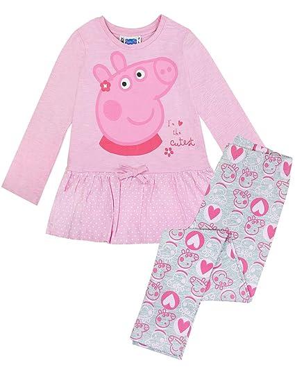 Peppa y Unicornio Peppa Pig Camiseta para ni/ñas