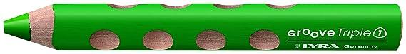 LYRA Groove Triple 1 Kartonetui mit 6 Farbstiften, wiesengrün