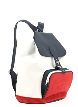 3a41e2f7dc Sac à Dos LACOSTE White Peacoat Red: Amazon.fr: Bagages